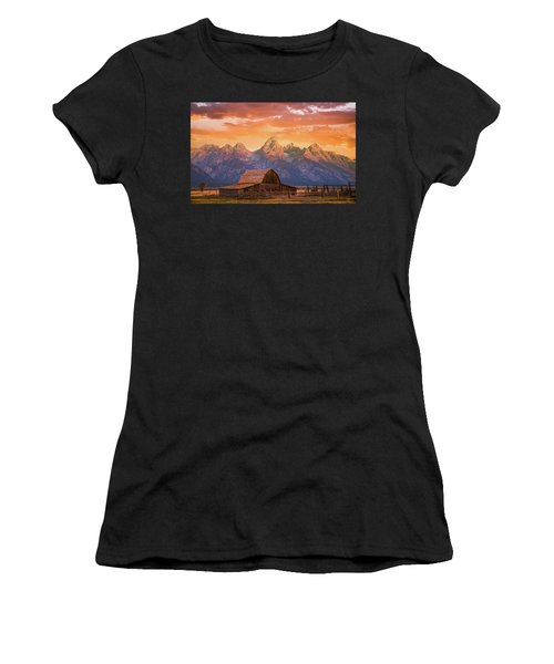 Sunrise On The Ranch Women's T-Shirt
