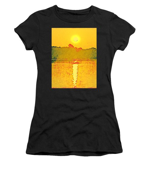 Sunrise On Town Lake Women's T-Shirt