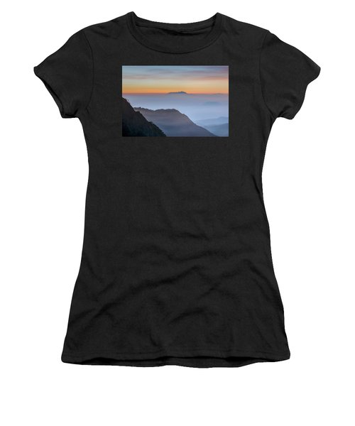 Sunrise Over Bromo National Park - Java Women's T-Shirt