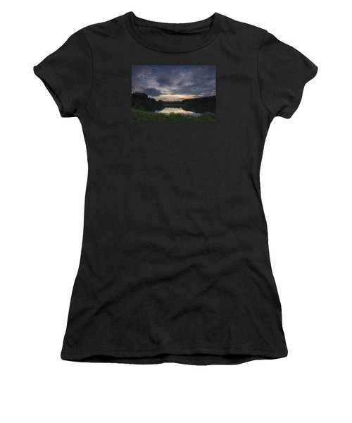 Sunrise Over Indigo Lake Women's T-Shirt