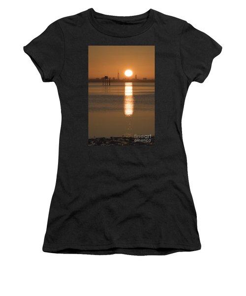 Sunrise Over Portsmouth Women's T-Shirt
