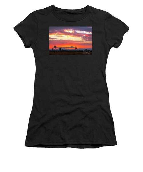 Sunrise Over The Mara Women's T-Shirt