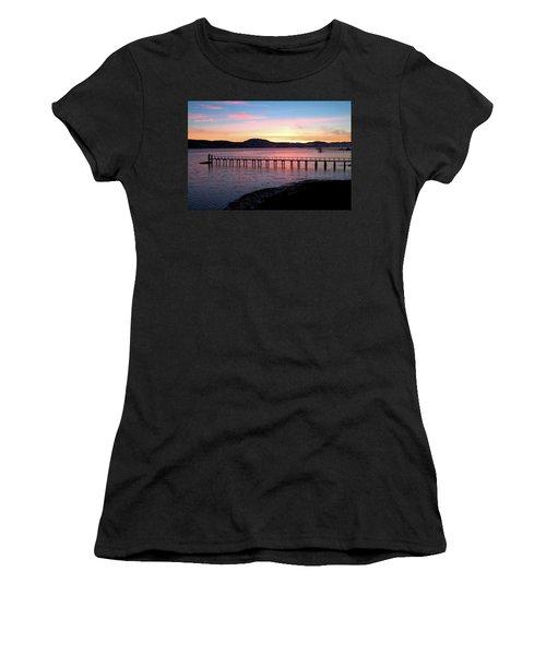 Sunrise Over Tomales Bay Women's T-Shirt