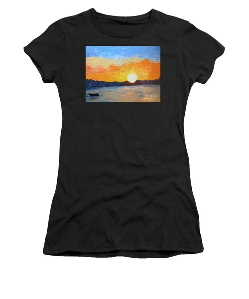 Sunrise At Pine Point Women's T-Shirt