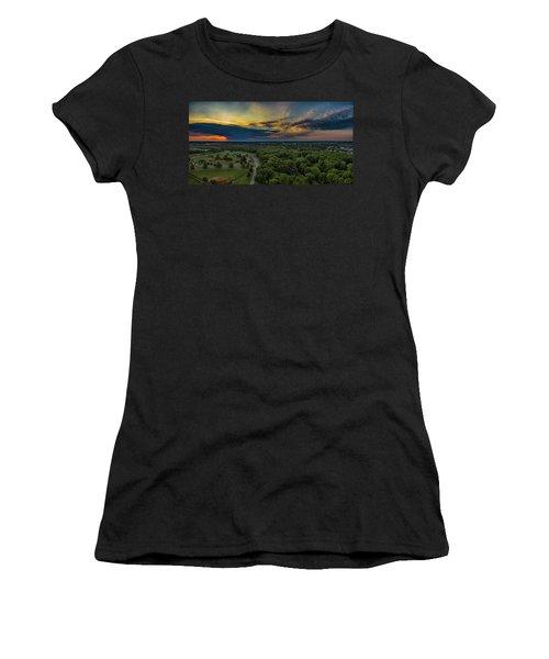 Sunrise Thru The Clouds Women's T-Shirt