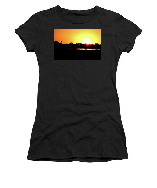 Sunrise Water Tower Women's T-Shirt (Athletic Fit)