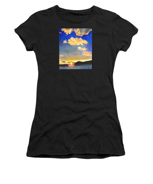 Sunset #6 Women's T-Shirt (Athletic Fit)