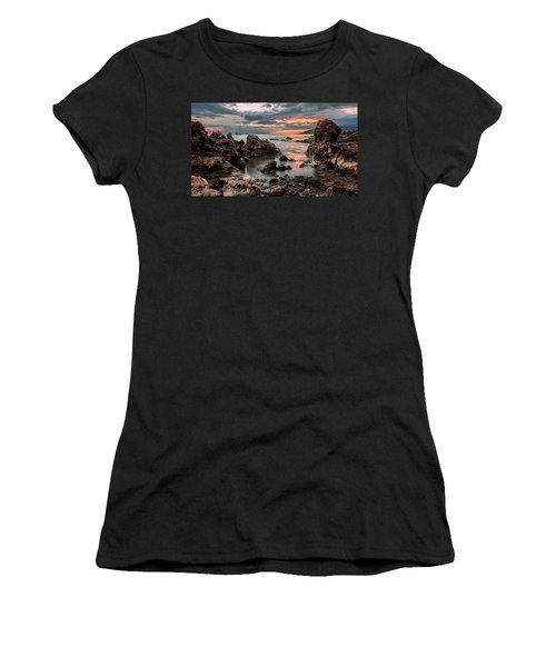 Sunset At Charley Young Beach Women's T-Shirt