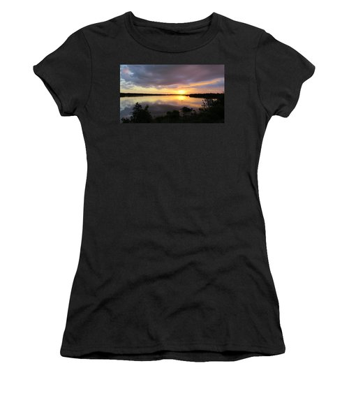 Sunset At Ding Darling Women's T-Shirt (Athletic Fit)