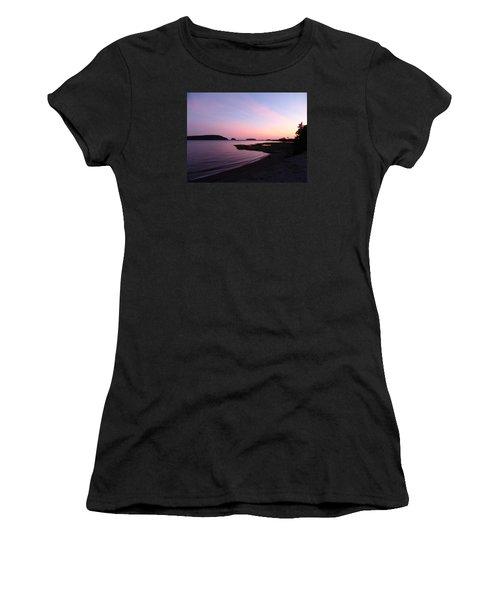 Sunset At Five Islands Women's T-Shirt