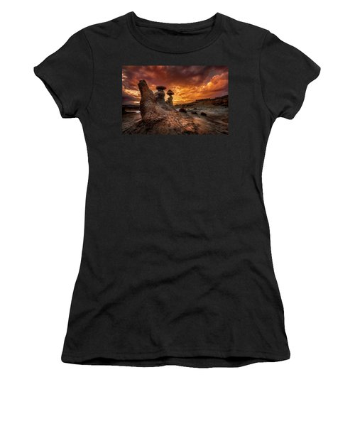 Sunset At Goblin Valley Women's T-Shirt