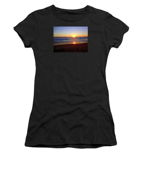 Sunset At Hermosa Women's T-Shirt (Athletic Fit)
