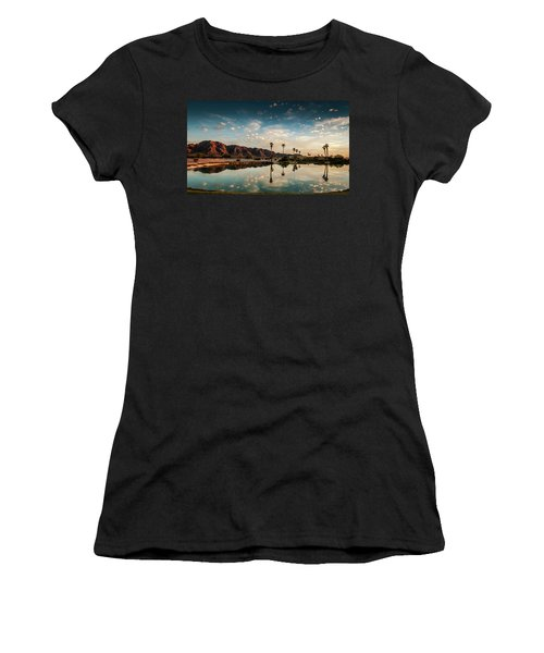 Sunset At Las Barancas Women's T-Shirt (Athletic Fit)