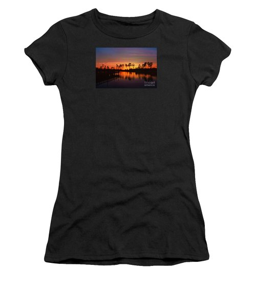 Sunset At Market Commons II Women's T-Shirt (Athletic Fit)
