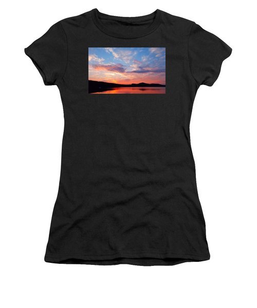 Sunset At Ministers Island Women's T-Shirt (Athletic Fit)
