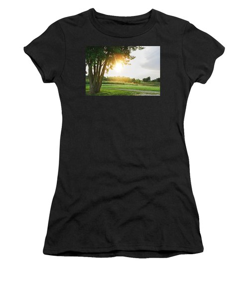 Sunset At Pearman Forest Women's T-Shirt