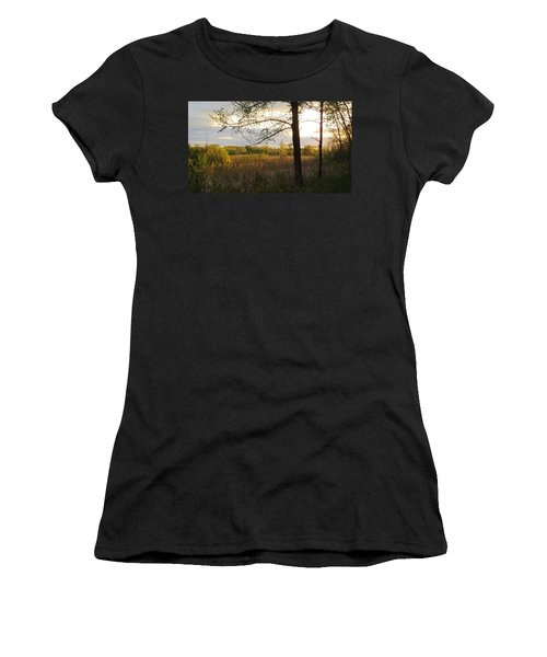 Sunset At Scuppernong II Women's T-Shirt (Athletic Fit)