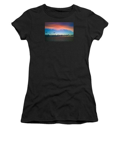 Sunset At Sea Women's T-Shirt