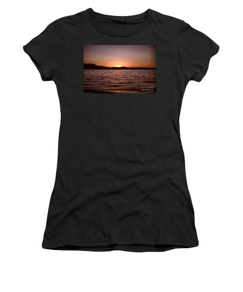 Sunset At The Lake 2 Women's T-Shirt