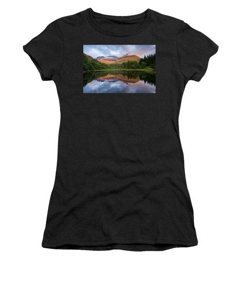 Sunset At Torren Lochan Women's T-Shirt (Athletic Fit)