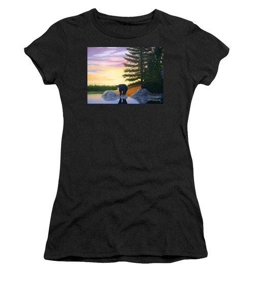 Sunset Bear Women's T-Shirt