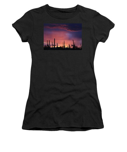 Sunset Colors Women's T-Shirt (Athletic Fit)