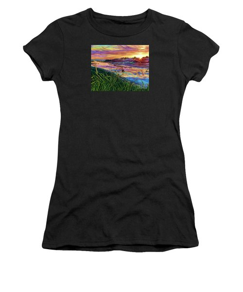 Sunset Creation Women's T-Shirt (Athletic Fit)