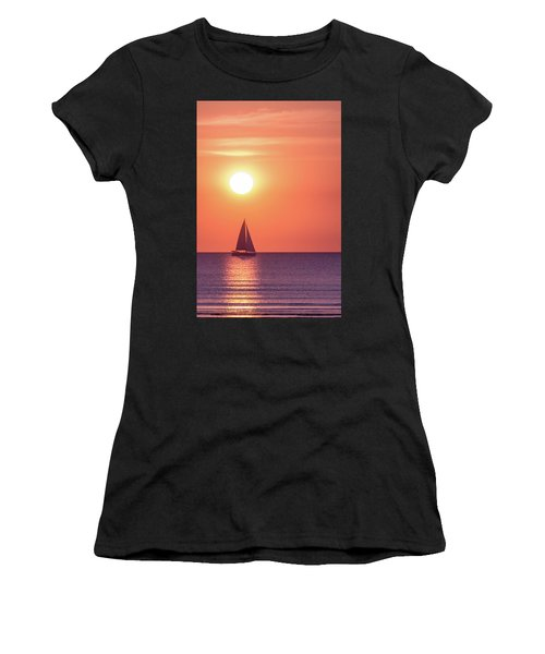 Sunset Dreams Women's T-Shirt (Athletic Fit)
