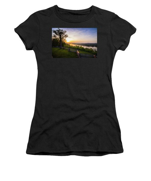 Sunset From Boreman Park Women's T-Shirt (Athletic Fit)