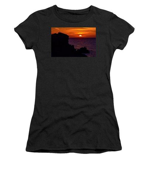 Sunset From Costa Paradiso Women's T-Shirt
