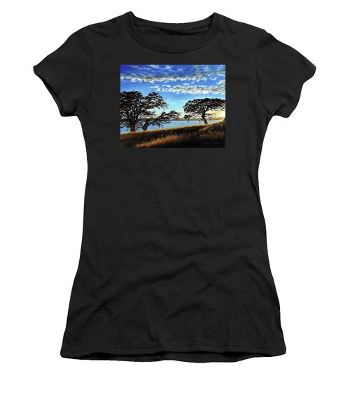 Sunset In Lucerne Women's T-Shirt
