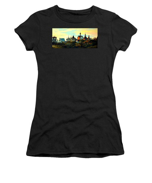 Sunset In Rostov Women's T-Shirt (Athletic Fit)