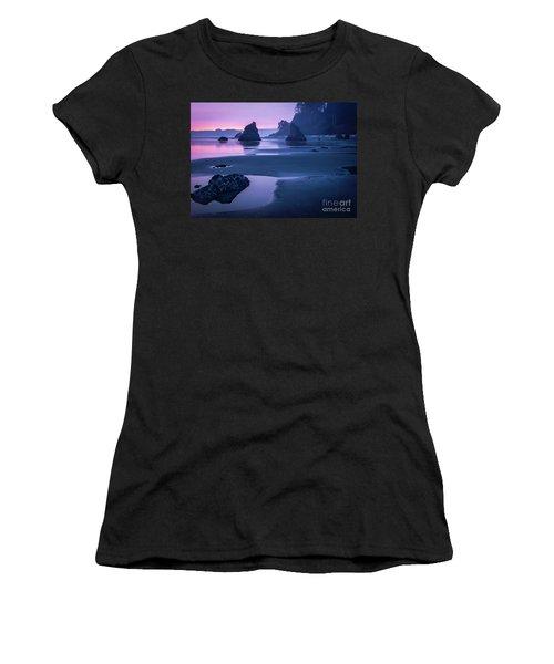 Sunset In Ruby Beach Women's T-Shirt