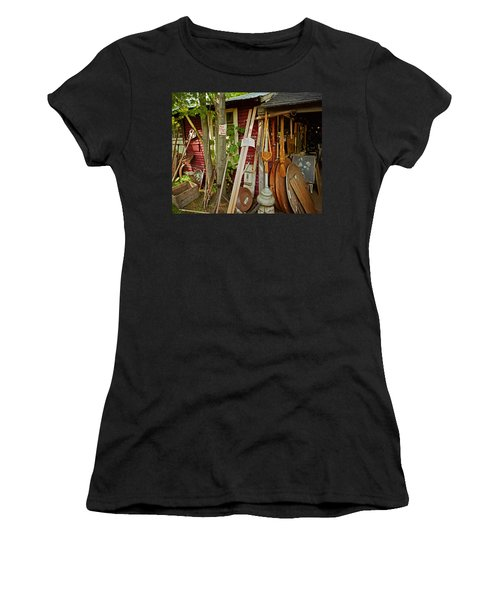 Sunset Jungle Antiques Women's T-Shirt (Athletic Fit)