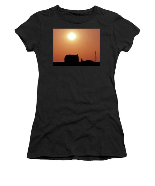 Sunset Lonely Women's T-Shirt (Junior Cut) by Christopher McKenzie