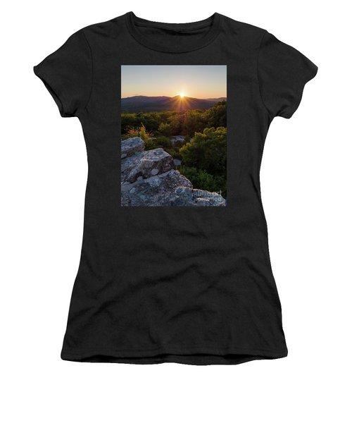 Sunset, Mt. Battie, Camden, Maine 33788-33791 Women's T-Shirt