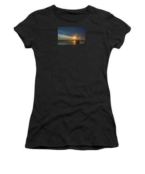 Sunset On Cape Cod Women's T-Shirt (Junior Cut) by Diane Diederich