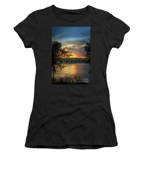 Sunset On The Arkansas Women's T-Shirt (Athletic Fit)