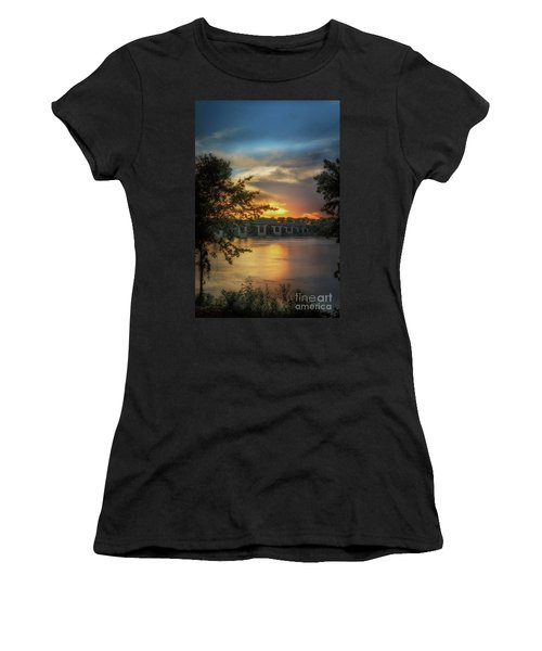 Sunset On The Arkansas Women's T-Shirt
