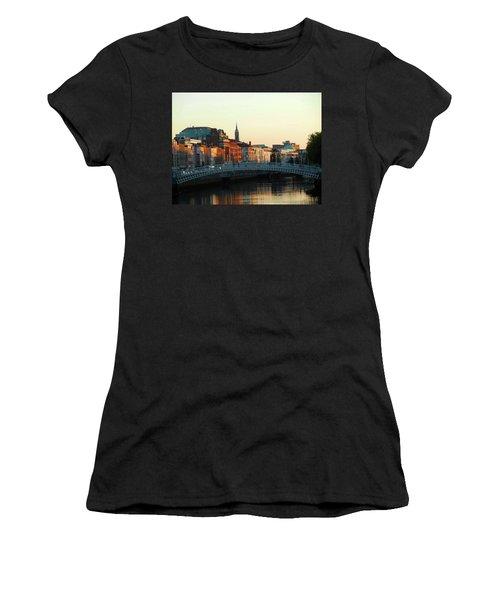Sunset On The Ha'penny Women's T-Shirt