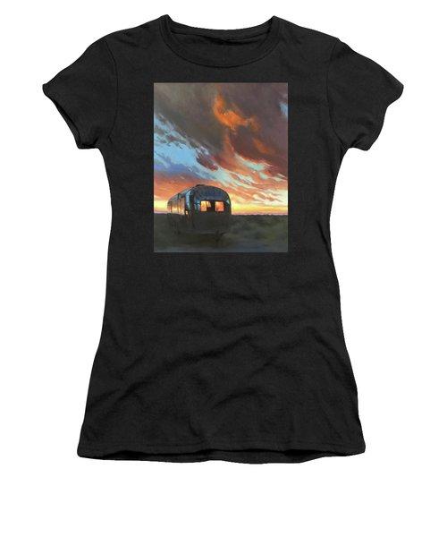 Sunset On The Mesa Women's T-Shirt