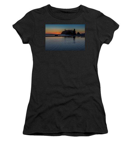 Sunset On The Oregon Coast Women's T-Shirt