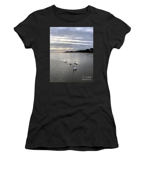 Sunset On The Water  Women's T-Shirt