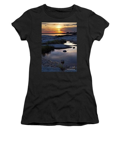 Sunset Over Boothbay Harbor Maine  -23095-23099 Women's T-Shirt