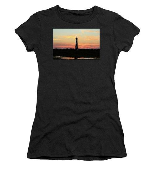Sunset Over Cape Hatteras Light Women's T-Shirt