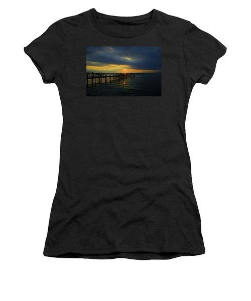 Sunset Over The Bay Women's T-Shirt