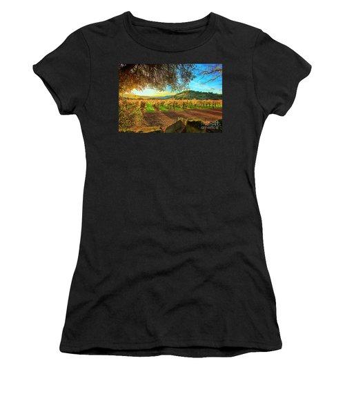 Sunset Over Napa  Women's T-Shirt