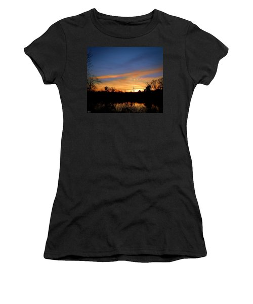 Sunset Over The Sabine 02 Women's T-Shirt