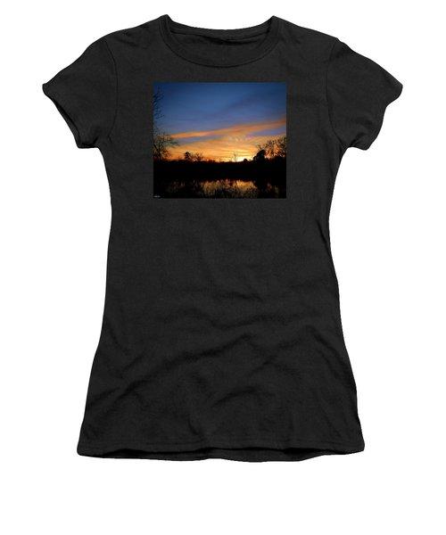 Sunset Over The Sabine 02 Women's T-Shirt