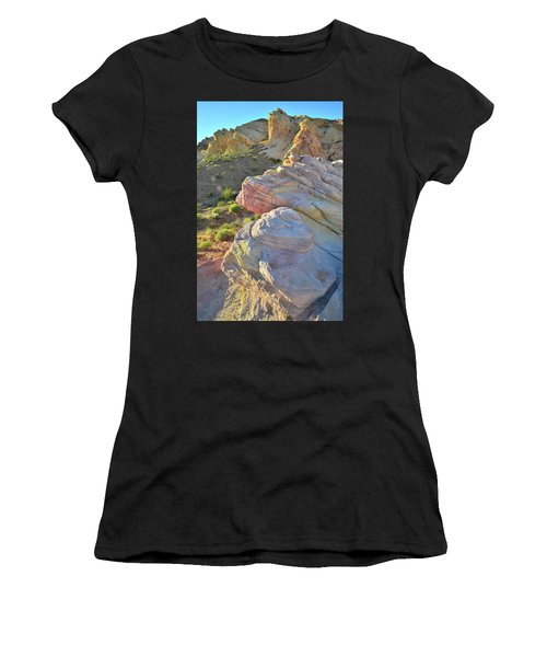 Sunset Pastels In Valley Of Fire Women's T-Shirt